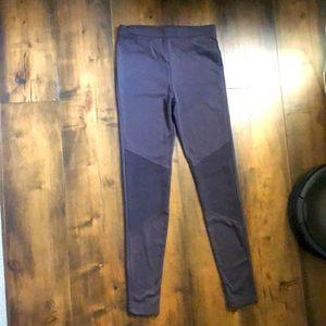 Dark Grey Tights w/ Knee Detail